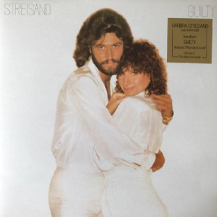 Barbra Streisand ‎- Guilty (LP) (EX+/EX+)